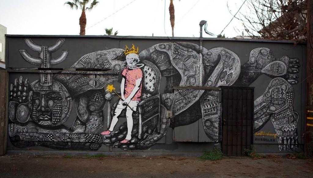Zio Ziegler x Bumblebee New Mural – Venice, California