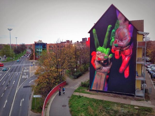 Case New Mural For OQ-Paint – Erfurt, Germany