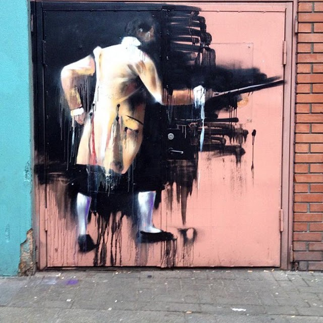 Conor Harrington New Murals In Dublin, Ireland