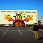 Dabs & Myla New Mural For Art Yards DC – Washington, USA