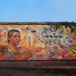"""El Decertor """"Defender Lo Que Nos Queda"""" New Mural – Cartagena, Colombia"""