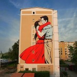 D*Face New Mural For ArtScape Festival – Malmo, Sweden