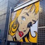 D*Face New Street Art – Shibuya, Tokyo