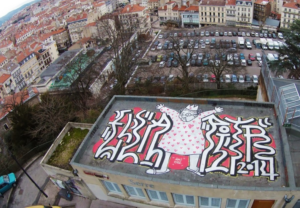 Ella & Pitr New Rooftop Piece – Saint-Etienne, France