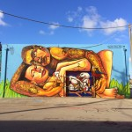 Entes Y Pesimo New Mural For Art Basel '13 – Miami, USA