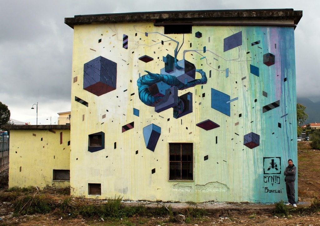 Etnik New Mural For Memorie Urbane – Fondi, Italy