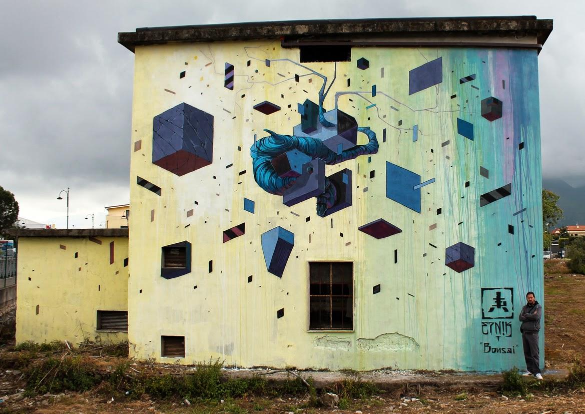Etnik New Mural For Memorie Urbane - Fondi, Italy