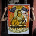 "Ever ""November 19, 1910"" Limited Edition Screen Print"