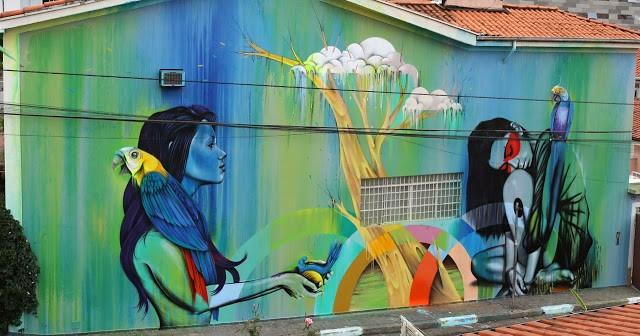 Fin DAC x Angelina Christina x Nove DigitalOrganico – Vila Madalena, Sao Paulo