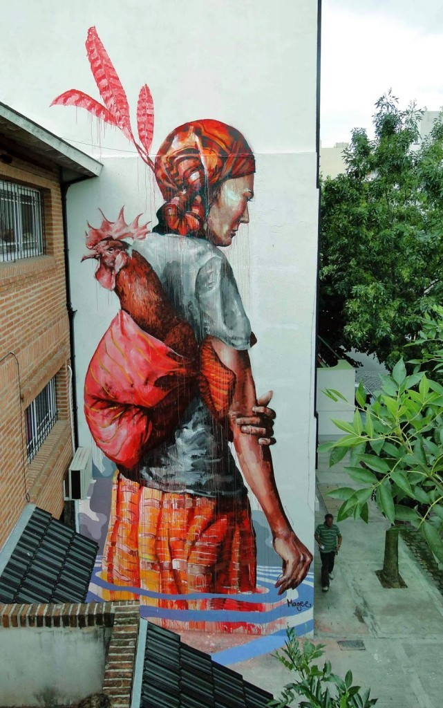 "Fintan Magee ""The Displaced"" – Buenos Aires Mural"