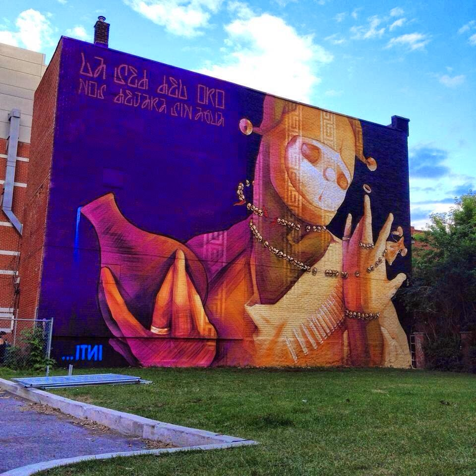 Inti new mural montreal canada streetartnews for Art mural montreal