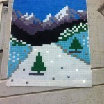 Invader Invades the Swiss Alps – Anzere, Switzerland (Part II)