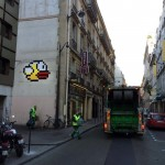 "Invader ""PA_1088 – Flappy Bird"" New Invasion – Paris, France"