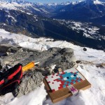 Invader Invades a Mountain – Anzeres, Switzerland (Part I)