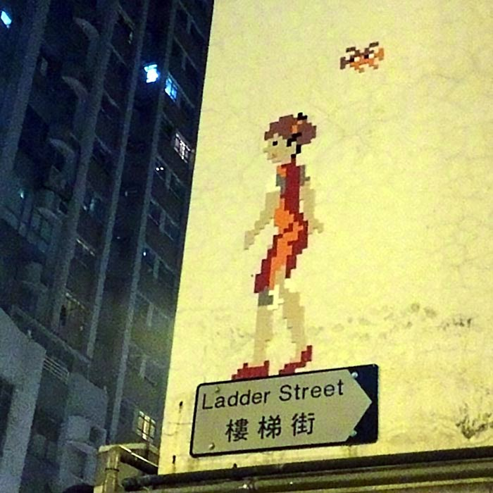 Invader Invades Hong-Kong (Part I)