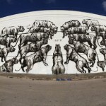 "JAZ ""Miami"" New Mural For Art Basel '13 – Wynwood, Miami"