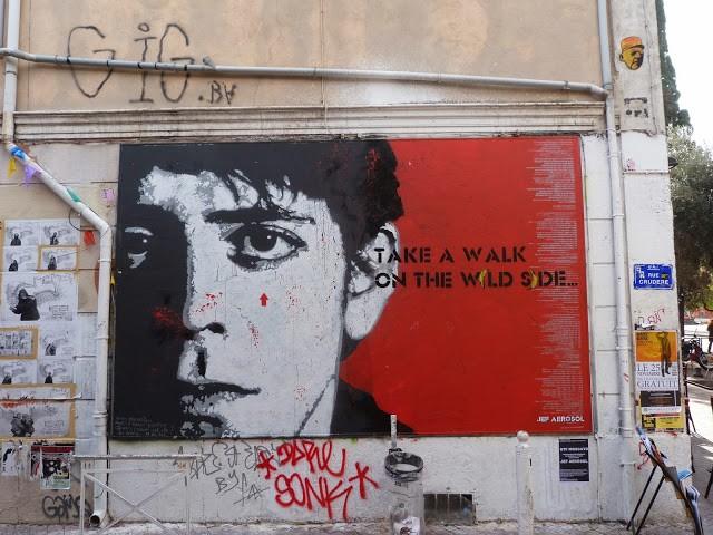 "Jef Aerosol ""Take A Walk On The Wild Side"" New Mural – Marseille, France"