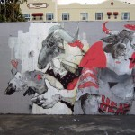 Joram Roukes New Mural For Art Basel '13 – Miami, USA