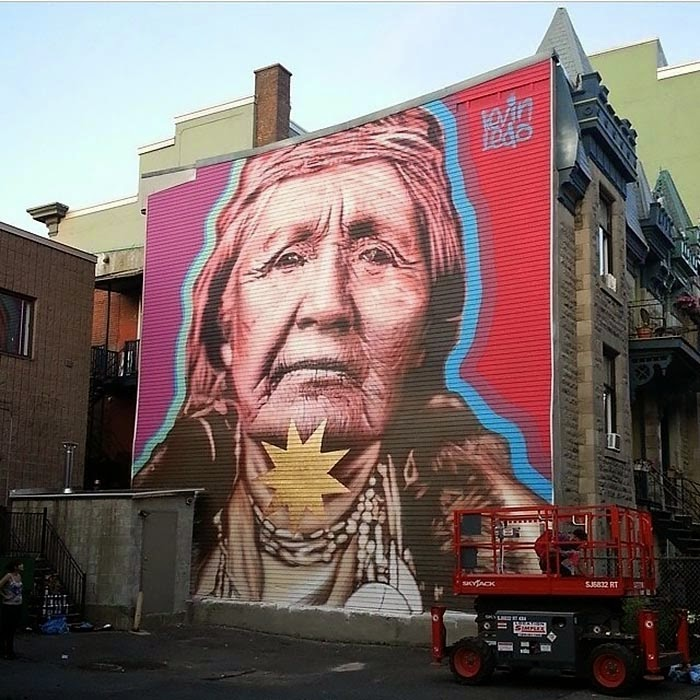 Kevin Ledo New Mural – Montreal, Canada