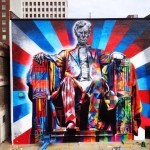 "Eduardo Kobra ""Lincoln"" New Mural – Lexington, Kentucky"