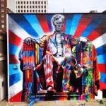 "Eduardo Kobra ""Lincoln"" New Mural – Lexington, Kentucky"