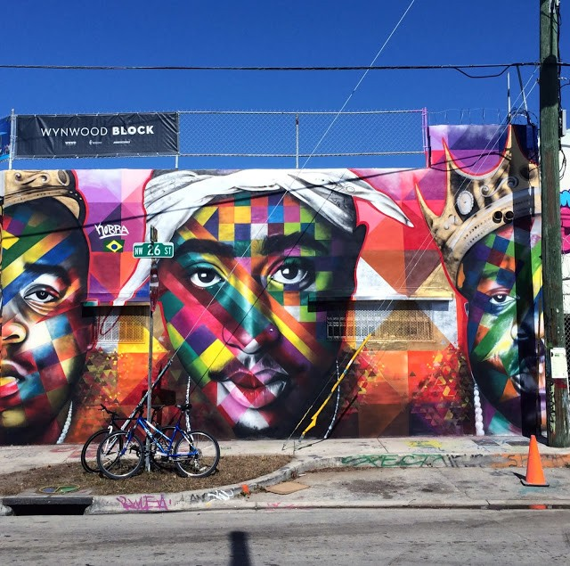 Kobra New Mural For Art Basel '13 – Wynwood, Miami