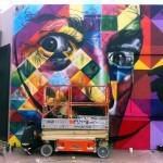 Kobra Work In Progress For Art Basel '13 – Wynwood, Miami