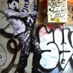 "Levalet ""The Red Button"" New Street Piece – Paris, France"