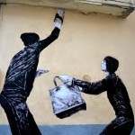 "Levalet ""Break In"" New Street Piece – Paris, France"