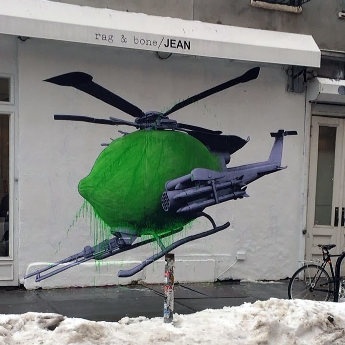Ludo New Street Piece – New York City, USA