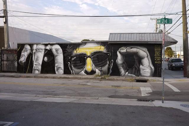 MTO New Mural For Art Basel '13 - Miami, USA