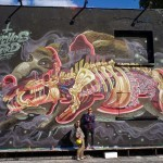 Nychos New Mural For Urban Spree – Berlin, Germany