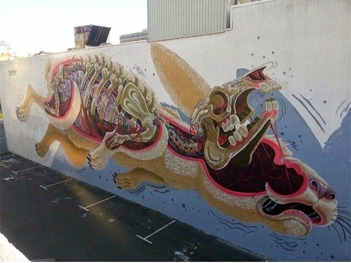 Nychos New Mural – Oakland, USA