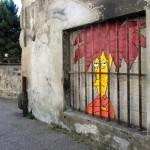 """OakOak """"Sideshow Bob"""" New Street Piece – Saint Etienne, France"""