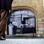 "Levalet ""Border"" New Street Piece – Paris, France"
