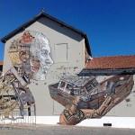 Vhils x Pixel Pancho New Mural – Lisbon, Portugal