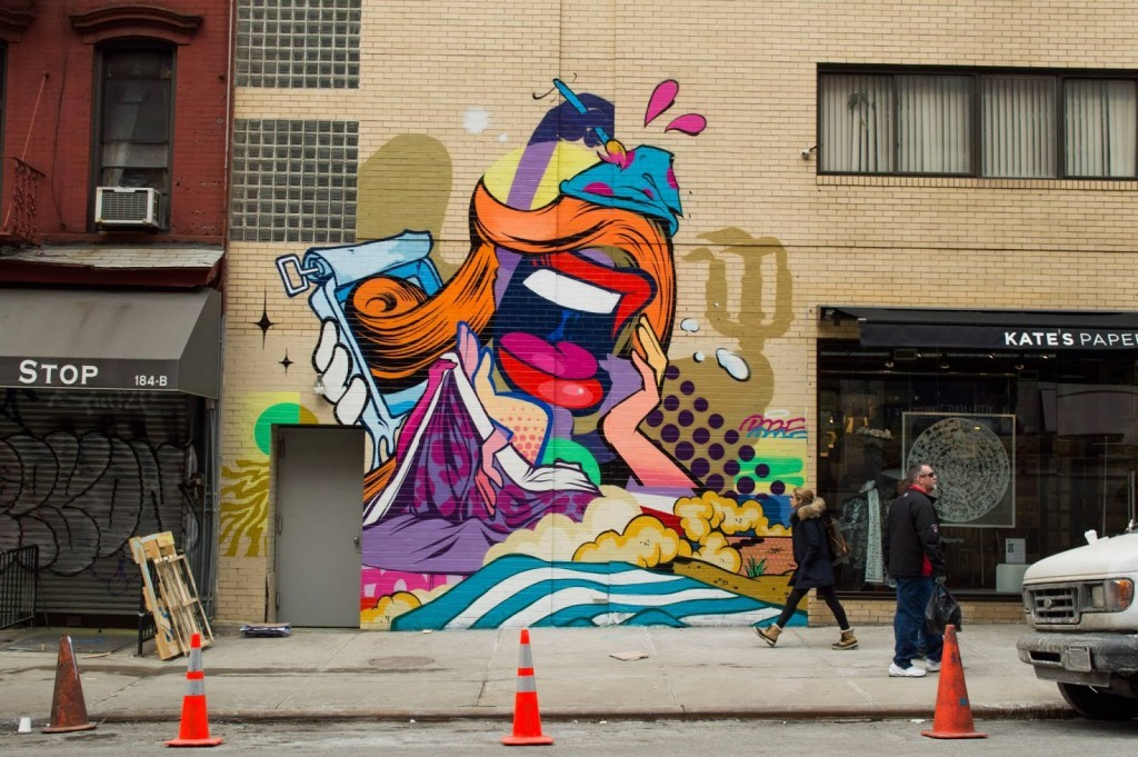 Pose New Mural For The Lisa Project – New York City