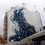 ROA New Mural For Puerto Street Art – Puerto De La Cruz, Spain