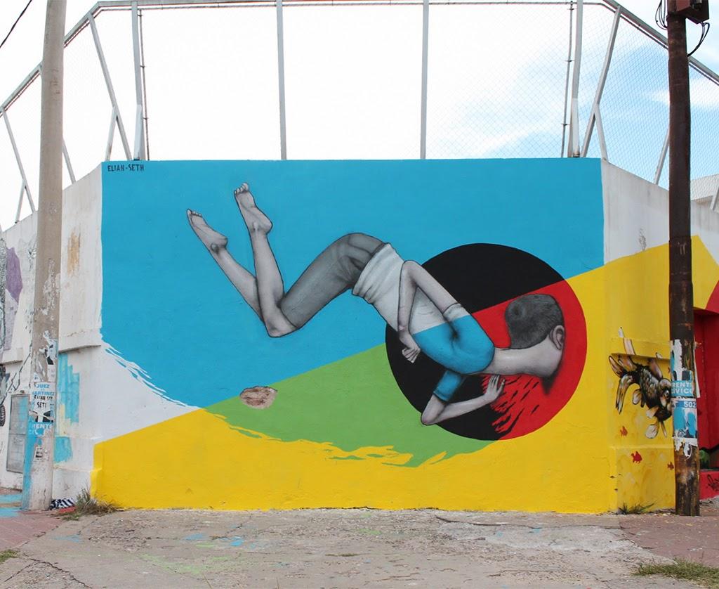 Seth x Elian New Mural - Cordoba, Argentina