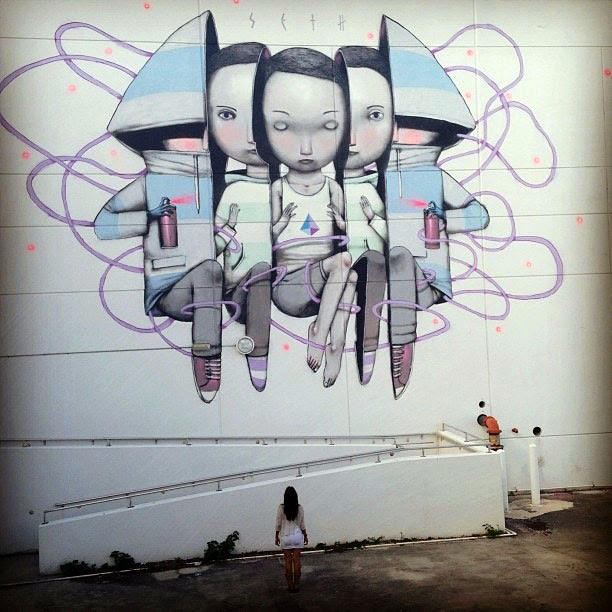 Seth New Mural For Art Basel '13 – Wynwood, Miami