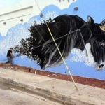Shai Dahan New Mural For Art Basel '13 – Miami, USA