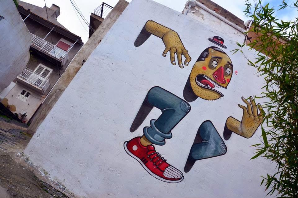 "Mr Thoms ""Fashion Trap"" New Mural – Favara, Sicily"