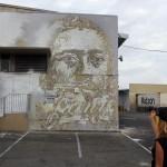 Vhils New Mural For POW! WOW! 2014 – Honolulu, Hawaii