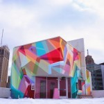 Wais1 New Mural For The Garage Project – Detroit, USA