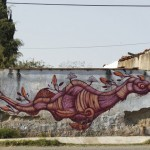 Sego New Mural In Cholula, Mexico