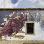 Sepe paints a large new mural for Arturb in Lagos, Portugal