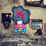 Seth Globepainter creates a new series of pieces in Shanghai, China