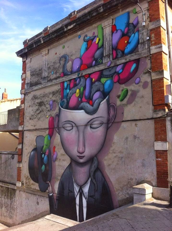 Seth Globepainter New Mural For K-Live Festival – Sete, France