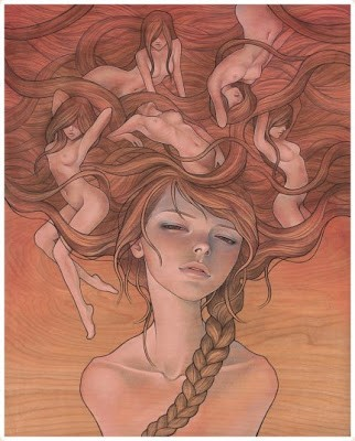 """Audrey Kawasaki """"She Entwined"""" New Print Available 27th February"""
