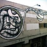 Signer Afk New Mural In Tel-Aviv, Israel